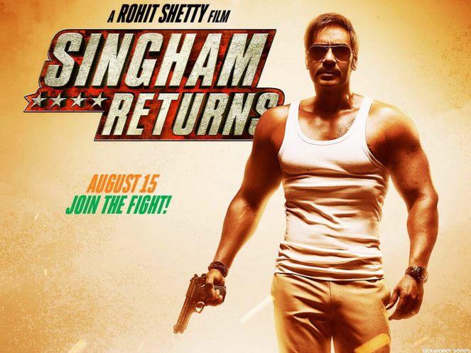 Singham Returns Movie Wallpaper